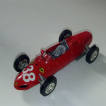 1961 Ferrari 156 f1 car 1:35 scale blue LOOSE DIECAST MODEL CAR Unknown maker@SOLD@